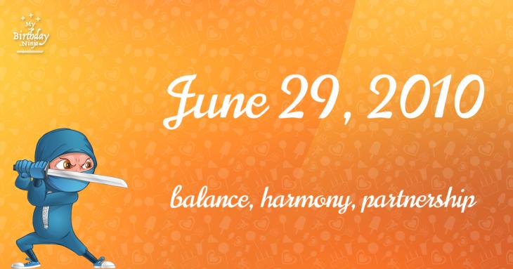 June 29, 2010 Birthday Ninja