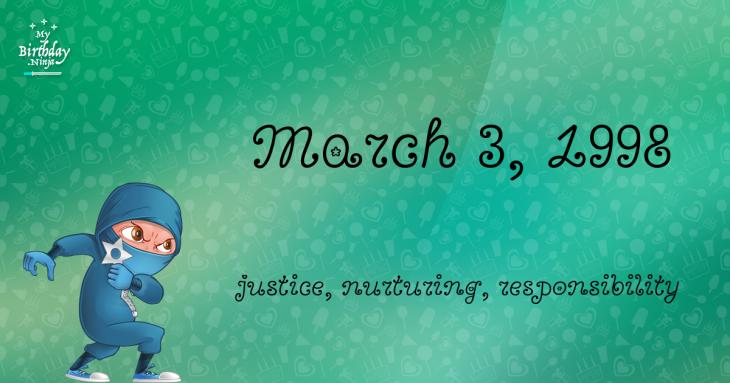 March 3, 1998 Birthday Ninja