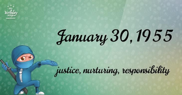 January 30, 1955 Birthday Ninja