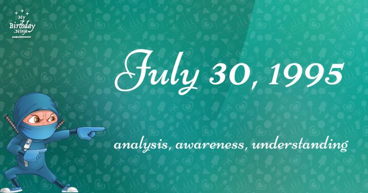 July 30, 1995 Birthday Ninja