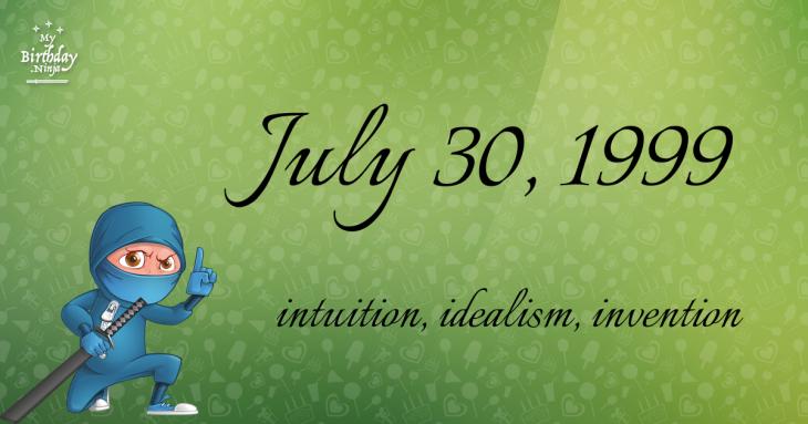 July 30, 1999 Birthday Ninja