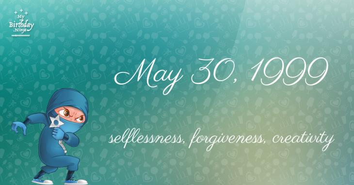 May 30, 1999 Birthday Ninja