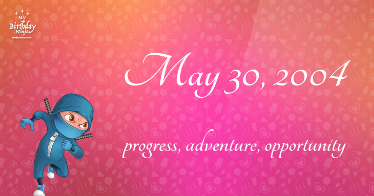 May 30, 2004 Birthday Ninja