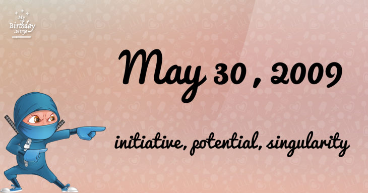May 30, 2009 Birthday Ninja