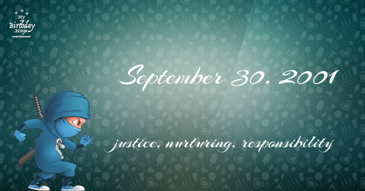 September 30, 2001 Birthday Ninja