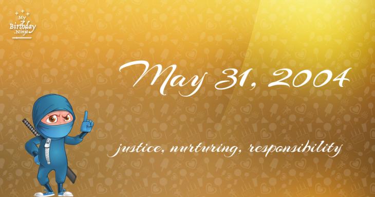 May 31, 2004 Birthday Ninja