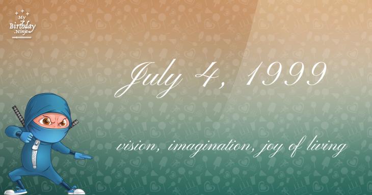 July 4, 1999 Birthday Ninja