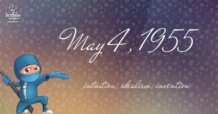 May 4, 1955 Birthday Ninja
