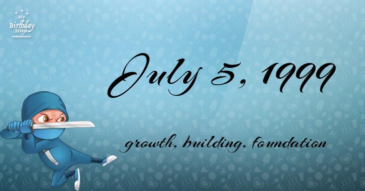 July 5, 1999 Birthday Ninja