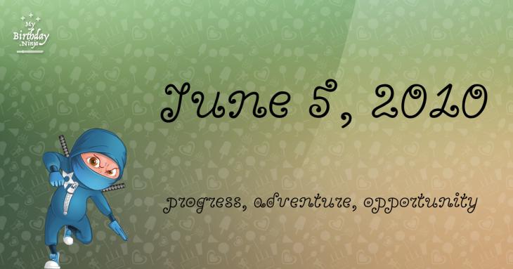 June 5, 2010 Birthday Ninja