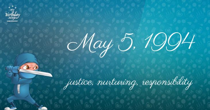 May 5, 1994 Birthday Ninja