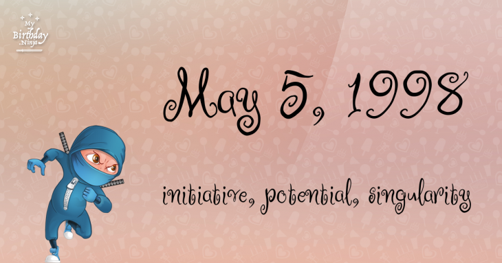 May 5, 1998 Birthday Ninja