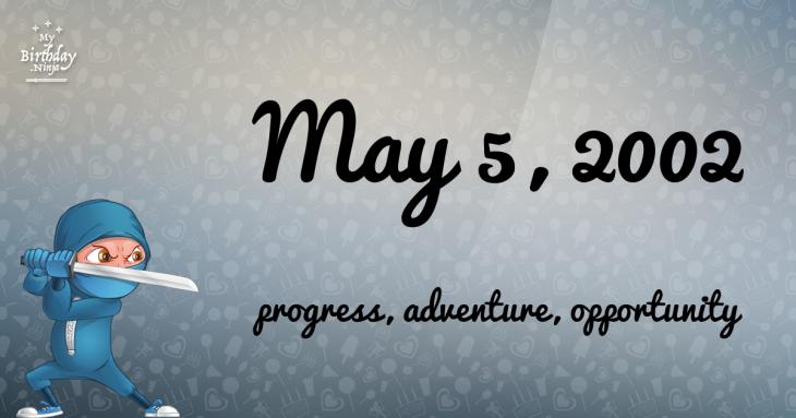 May 5, 2002 Birthday Ninja