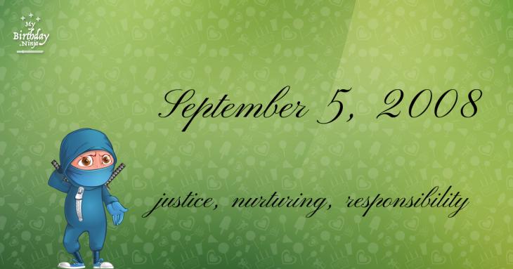 September 5, 2008 Birthday Ninja