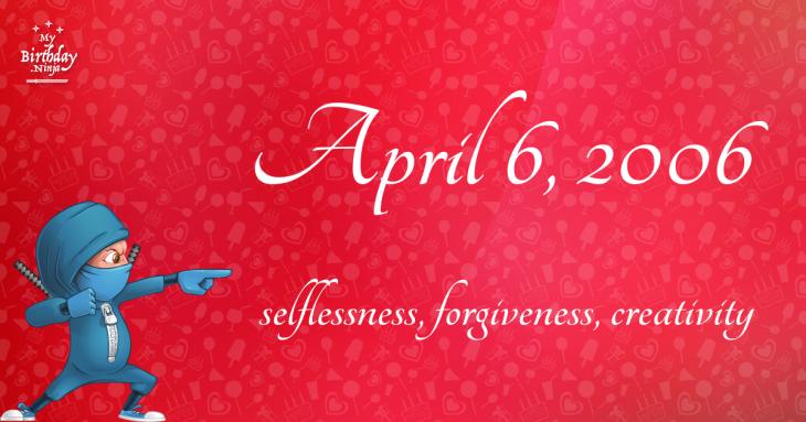 April 6, 2006 Birthday Ninja