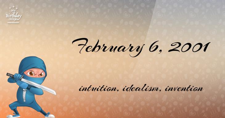 February 6, 2001 Birthday Ninja