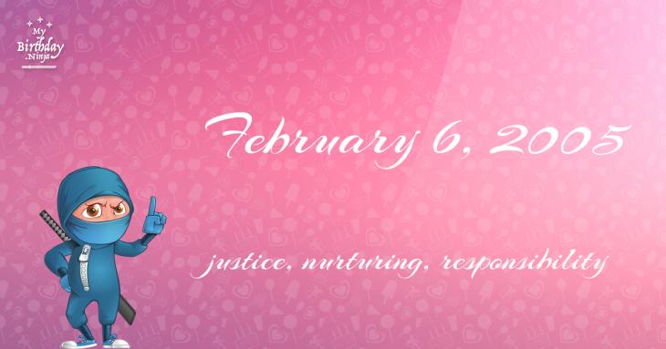 February 6, 2005 Birthday Ninja