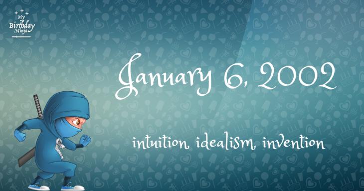 January 6, 2002 Birthday Ninja