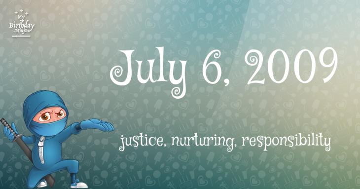 July 6, 2009 Birthday Ninja