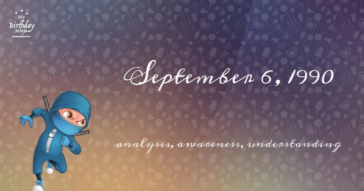 September 6, 1990 Birthday Ninja