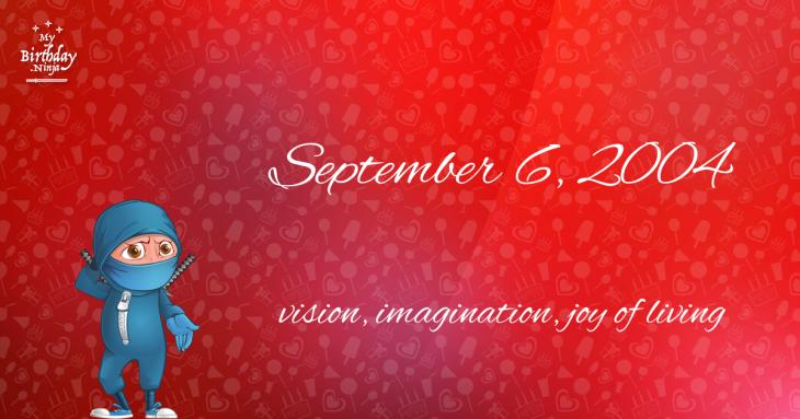 September 6, 2004 Birthday Ninja