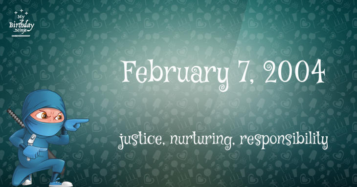 February 7, 2004 Birthday Ninja