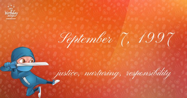 September 7, 1997 Birthday Ninja