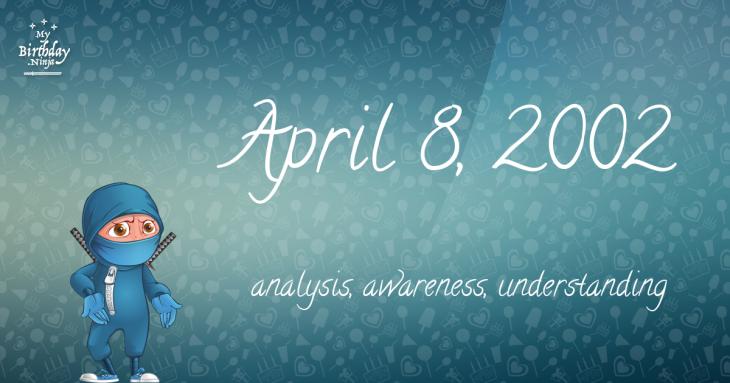 April 8, 2002 Birthday Ninja