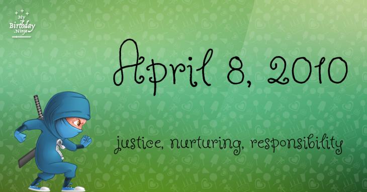 April 8, 2010 Birthday Ninja