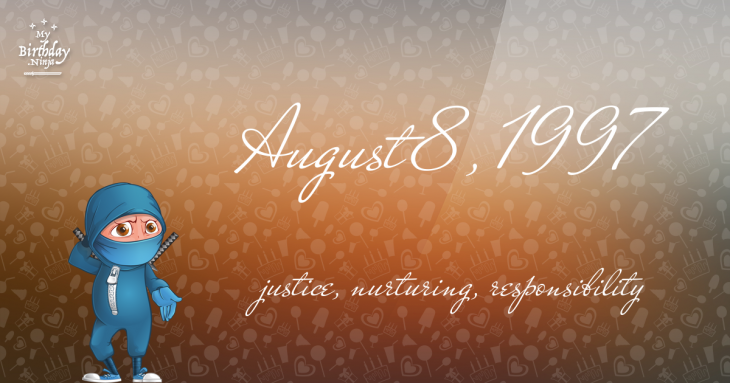 August 8, 1997 Birthday Ninja