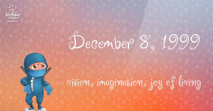 December 8, 1999 Birthday Ninja