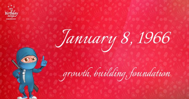 January 8, 1966 Birthday Ninja