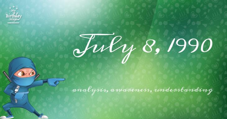 July 8, 1990 Birthday Ninja