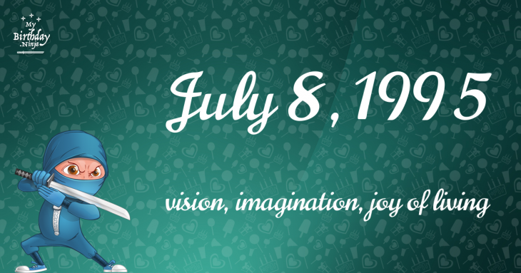 July 8, 1995 Birthday Ninja