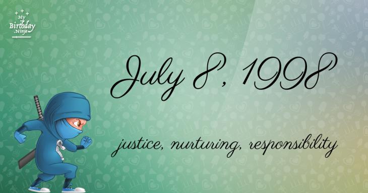 July 8, 1998 Birthday Ninja