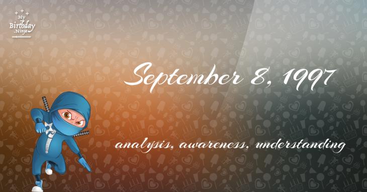 September 8, 1997 Birthday Ninja