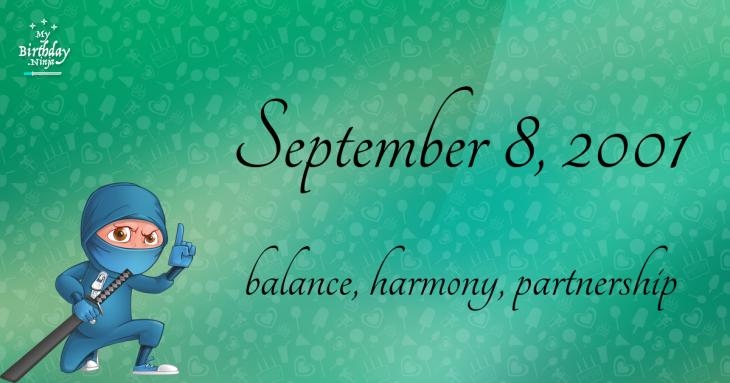 September 8, 2001 Birthday Ninja