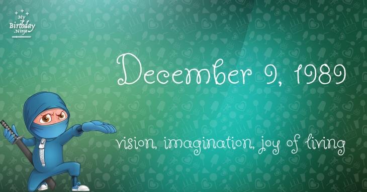 december 9 birthday daily horoscope