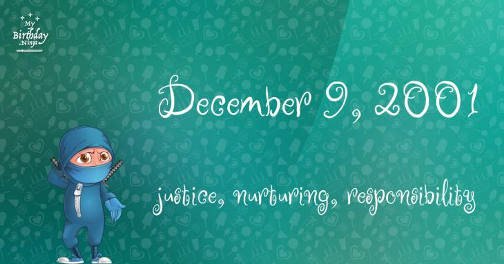 December 9, 2001 Birthday Ninja