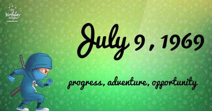 July 9, 1969 Birthday Ninja