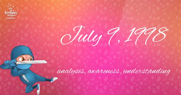 July 9, 1998 Birthday Ninja