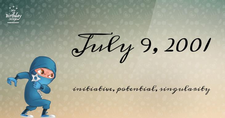 July 9, 2001 Birthday Ninja