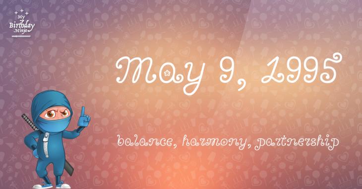 May 9, 1995 Birthday Ninja