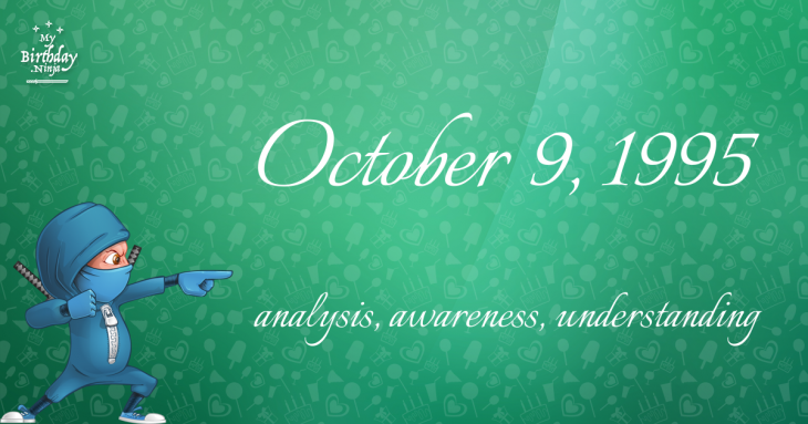 October 9, 1995 Birthday Ninja