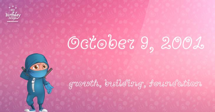 October 9, 2001 Birthday Ninja
