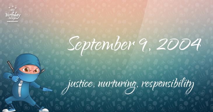 September 9, 2004 Birthday Ninja