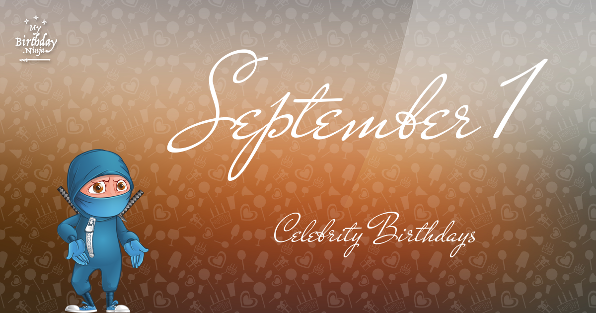 Celebrity Actor Birthdays - September 14-20, 2014 HD - YouTube