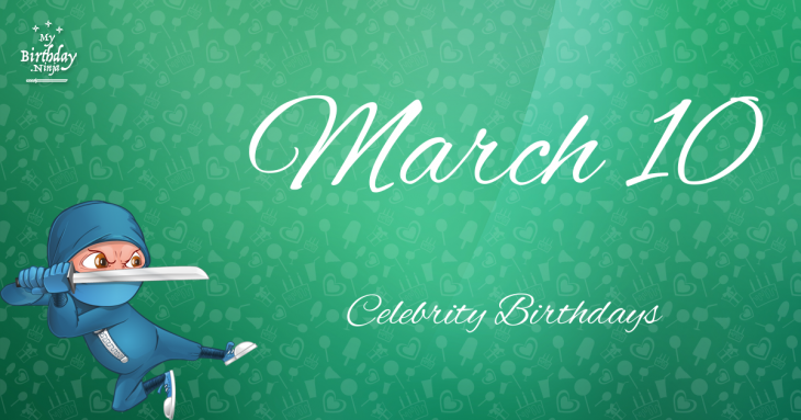 Celebrities born in March: Mariah Carey, Justin Bieber ...