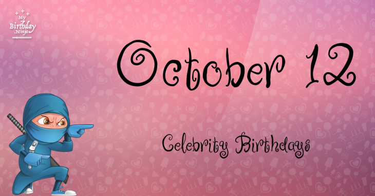 Celebrity Birthday's In October - Libra - YouTube