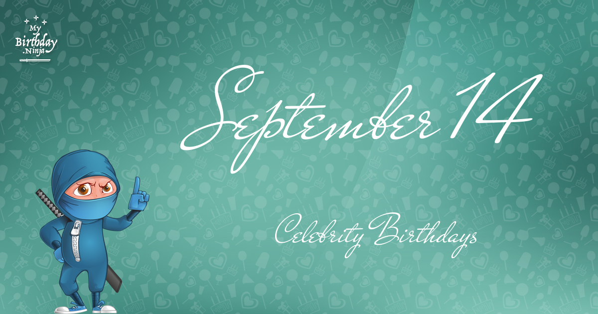 Famous People's Birthdays, September 14, India Celebrity ...